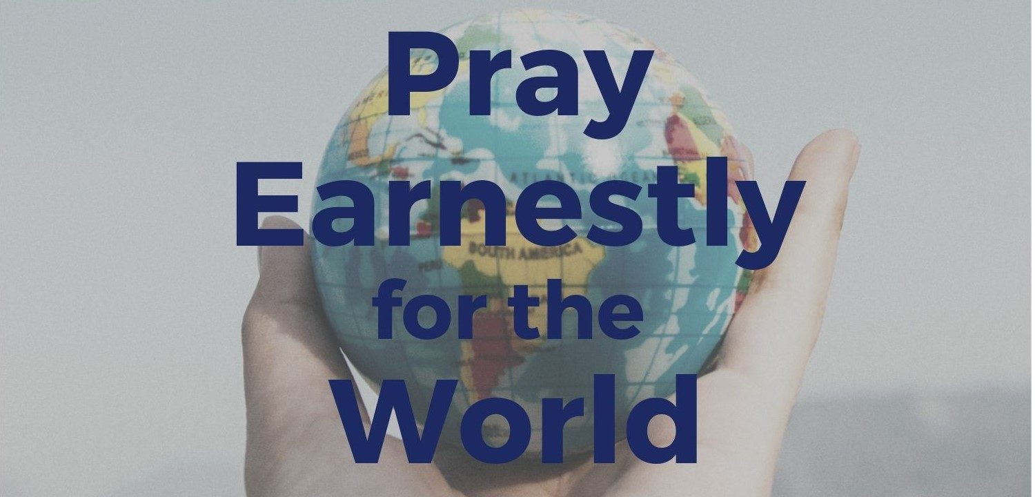 Pray Earnestly for the World banner (1)
